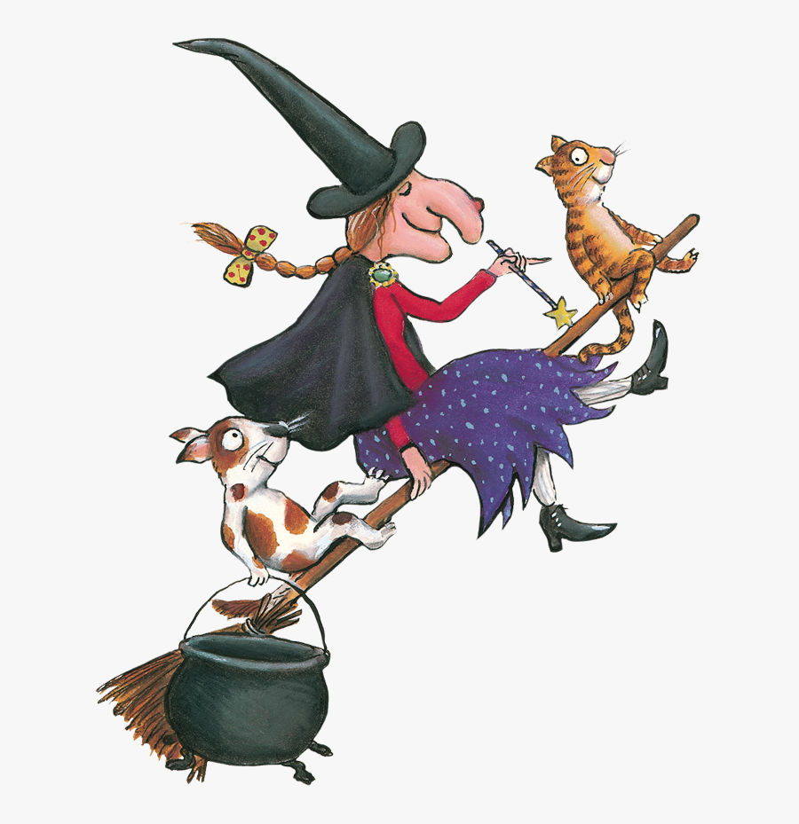 Room On The Broom - There Room On The Broom, Transparent Clipart