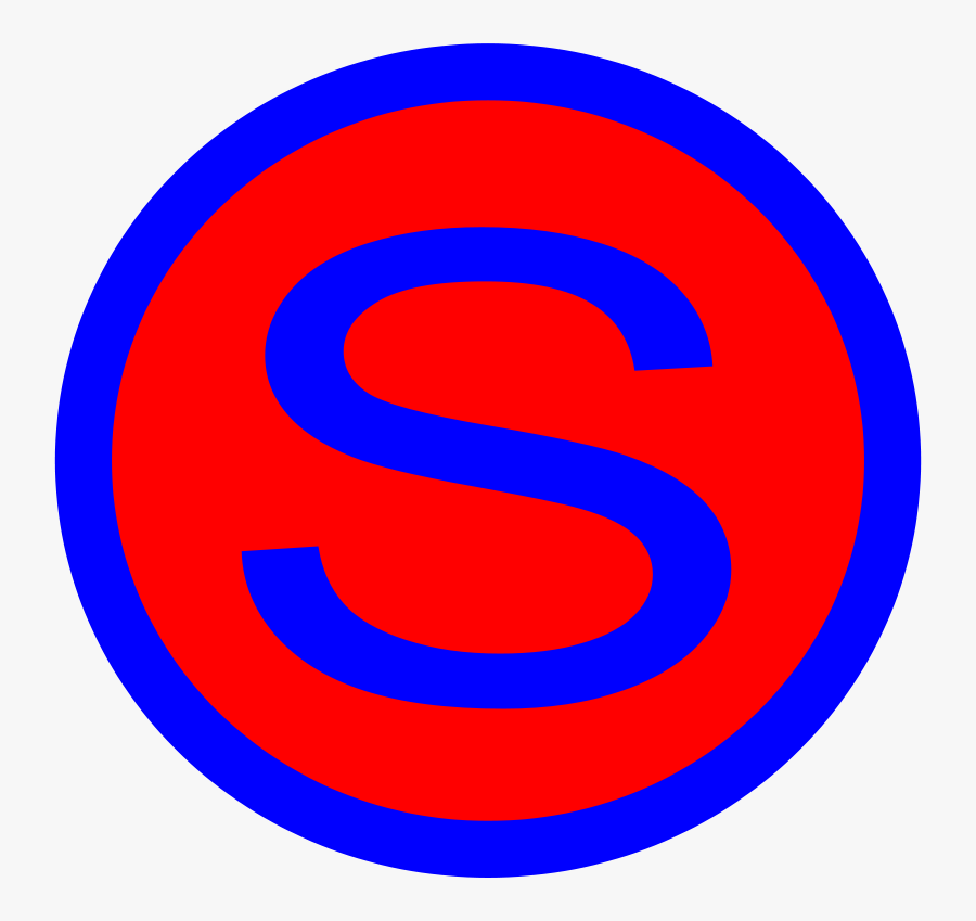Free Supa - Letter S Icons Transparent, Transparent Clipart