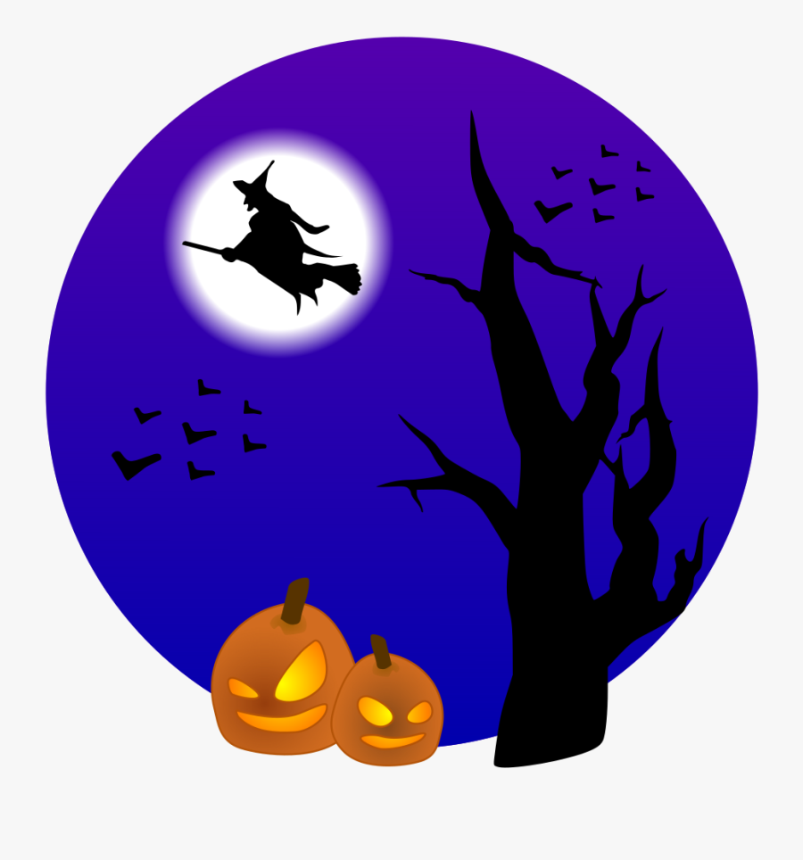 Witch On Broom - Trunk Or Treat Car Registration Form ...
