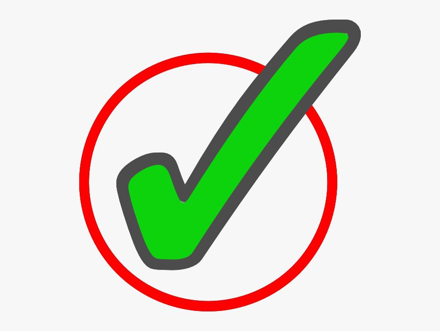 Green Check Mark In Circle 1 Clip Art At Vector Clip - Animated Green Check Mark, Transparent Clipart