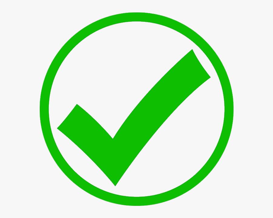 Png Transparent Green Check Mark, Transparent Clipart
