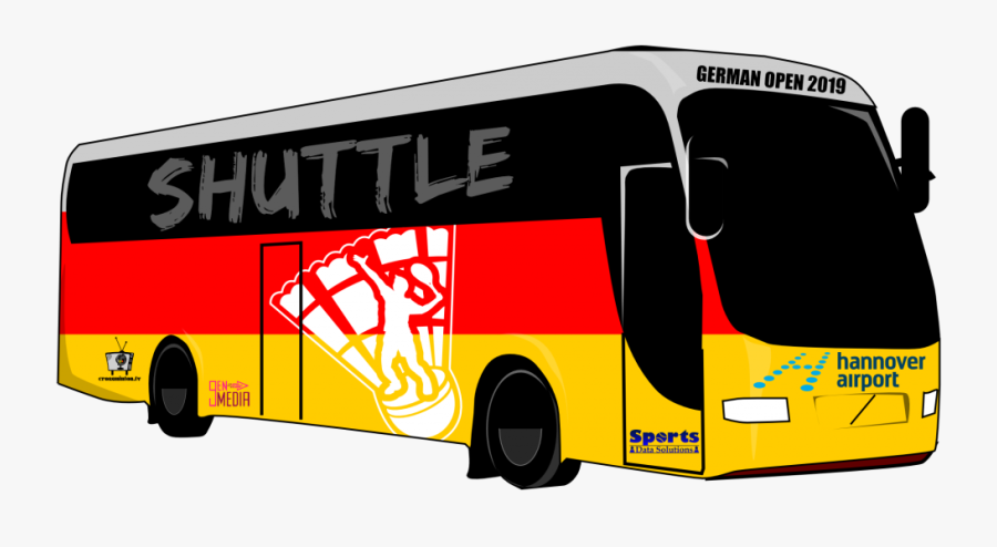 Transparent Shuttle Png - Tour Bus Service, Transparent Clipart