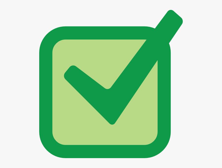Check Mark Clipart Vector - Check Box Vector Png, Transparent Clipart