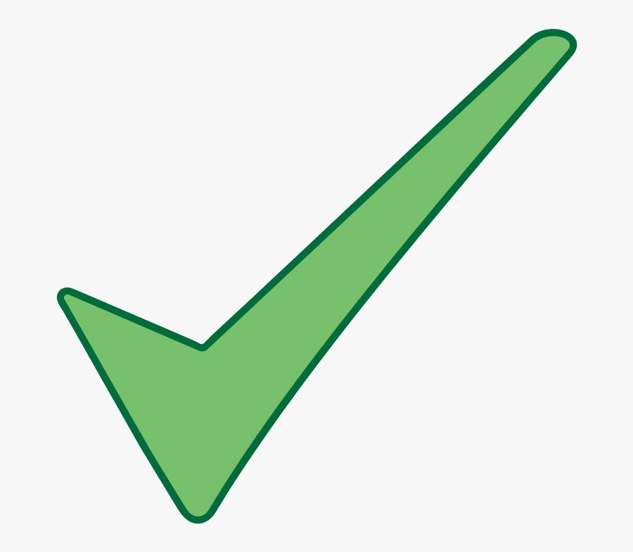 Free Vector Check Mark Symbol Clip Art - Ok Png, Transparent Clipart
