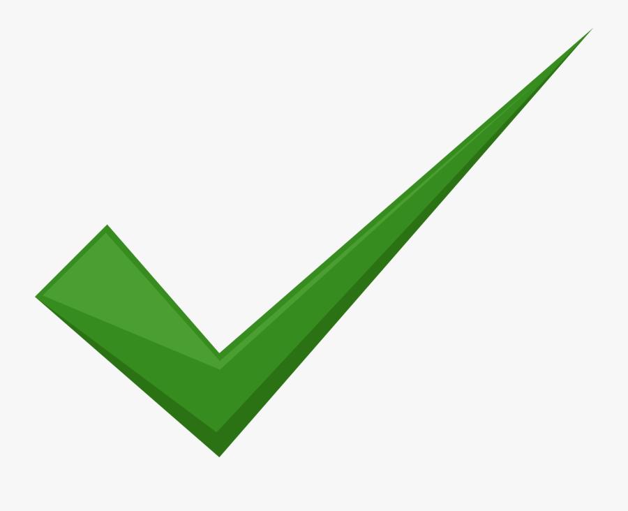 Transparent Wrong Clipart - Transparent Background Green Tick Mark Png, Transparent Clipart