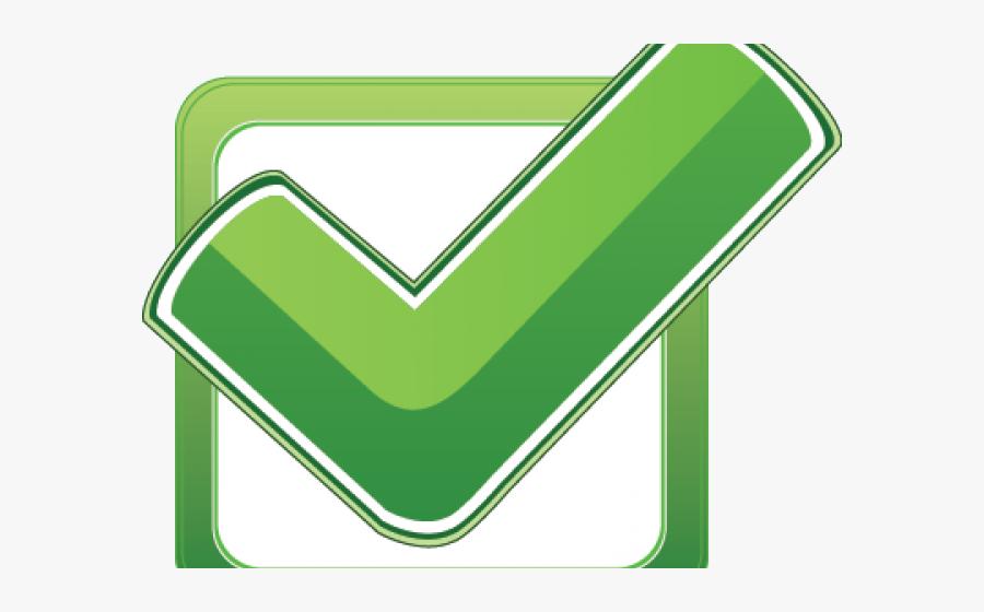 Green Tick Clipart Quality - Green Check Box, Transparent Clipart
