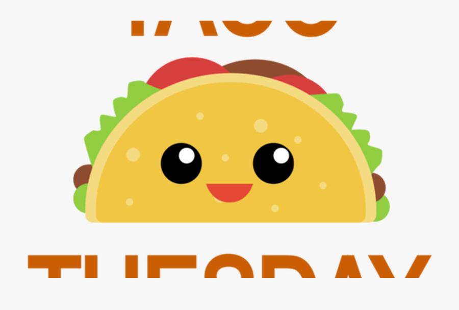 Transparent Taco Tuesday Clipart - Clip Art Taco Cartoon, Transparent Clipart