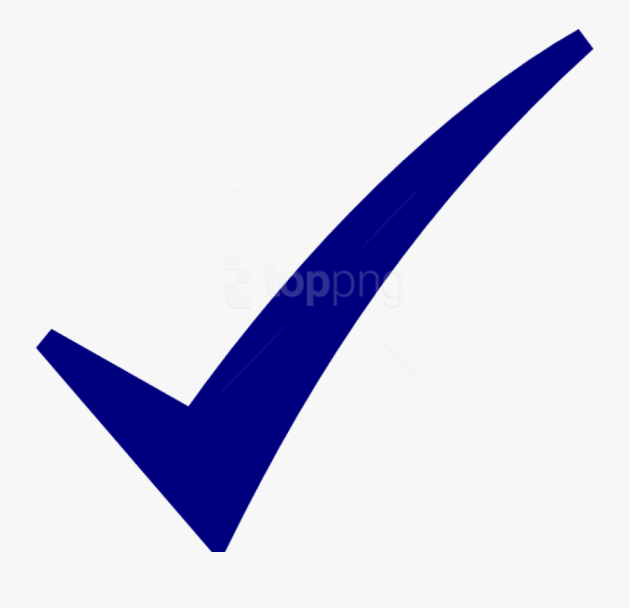 Check Mark Symbol Png - Small Blue Check Mark, Transparent Clipart
