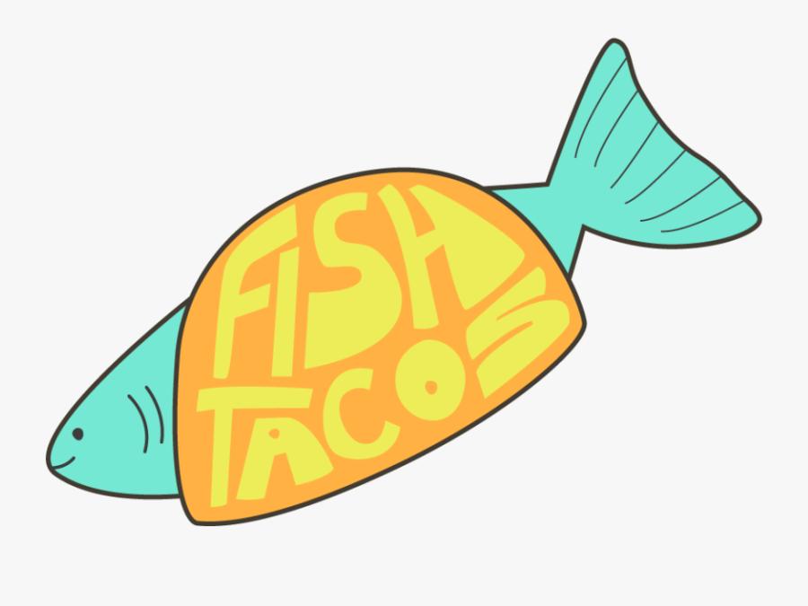 Fish Taco Clipart Transparent - Fish Taco Clipart Png, Transparent Clipart