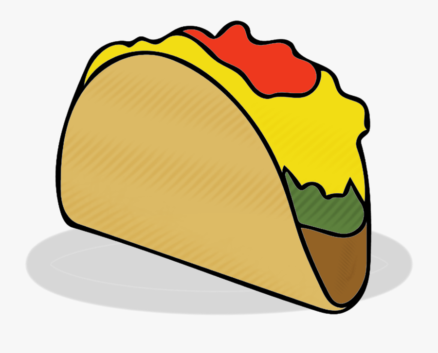 Taco Tacos Food Free Picture - Taco, Transparent Clipart