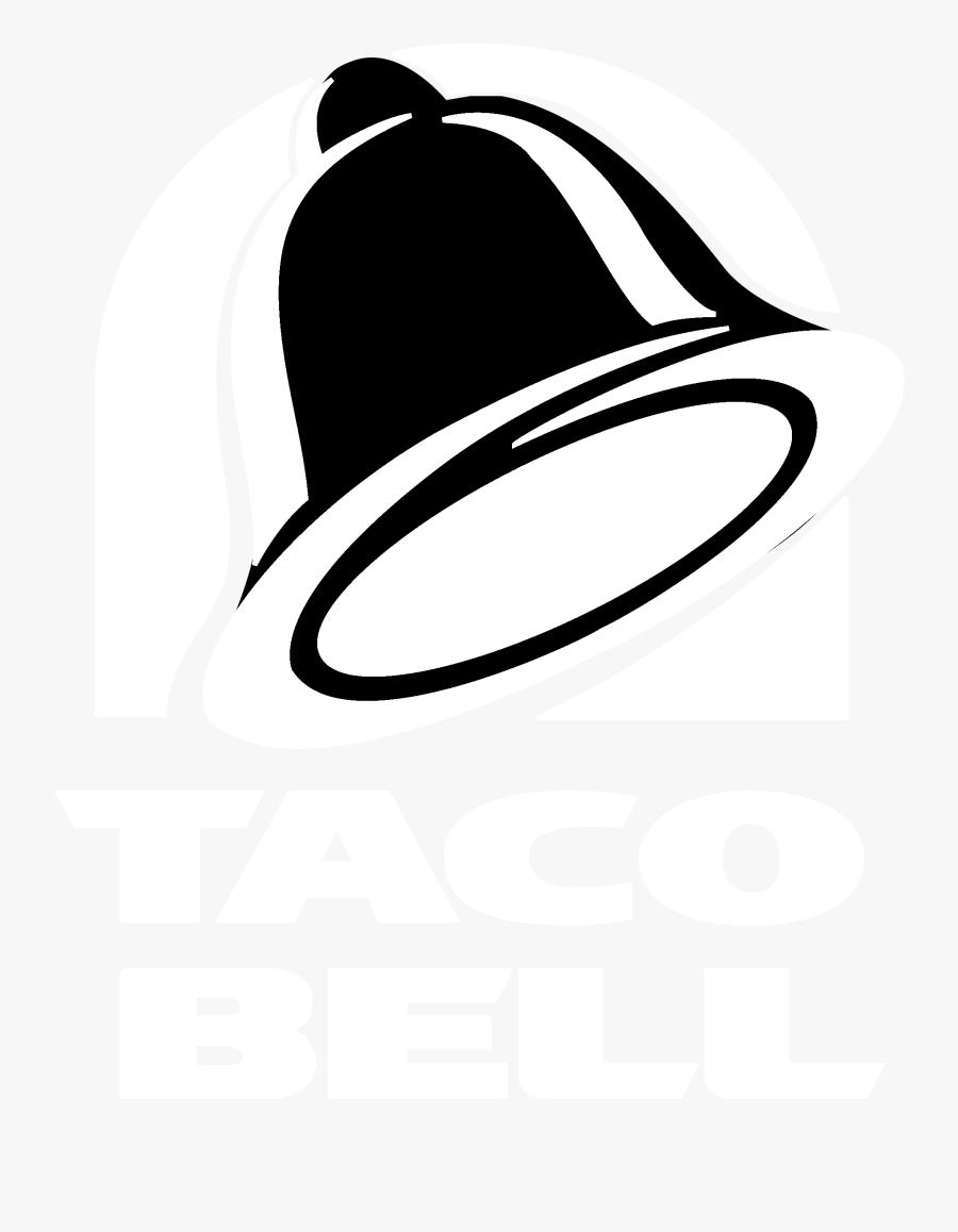 Logo Transparent Svg Vector - White Taco Bell Logo, Transparent Clipart