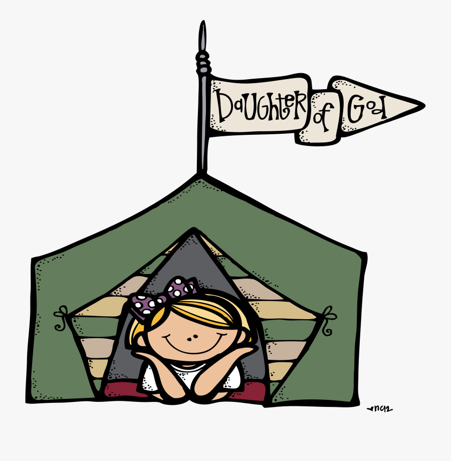 Camping Clipart Transparent Background - Girls Camp Clipart, Transparent Clipart