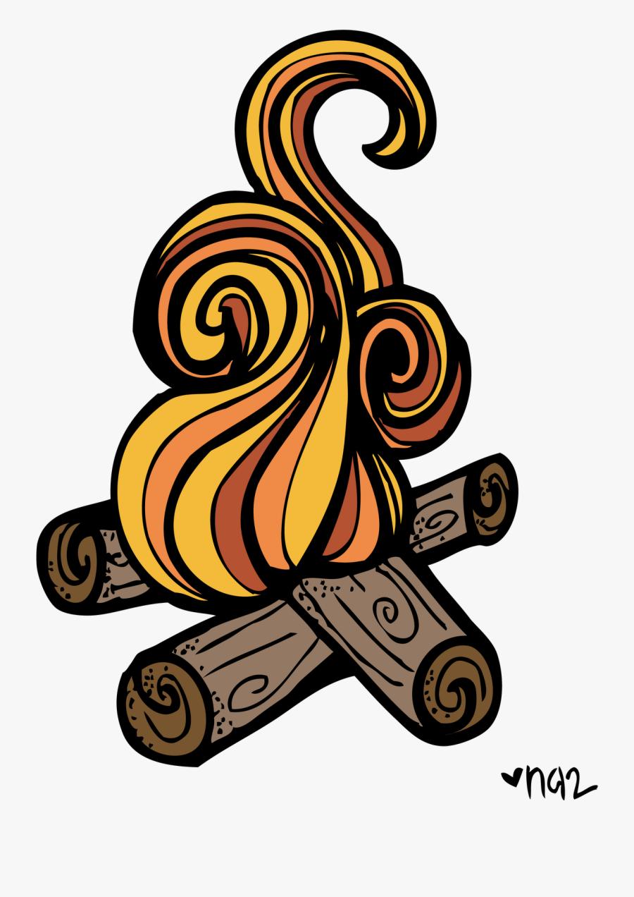 Around The Campfire Clipart - Clip Art Camp Fire, Transparent Clipart