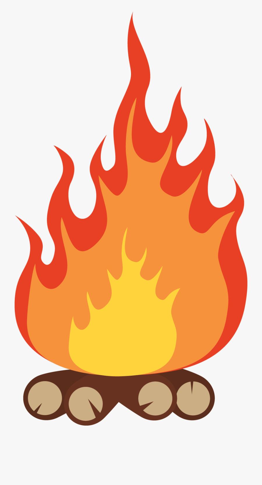 Camp Fire Cartoon Png, Transparent Clipart