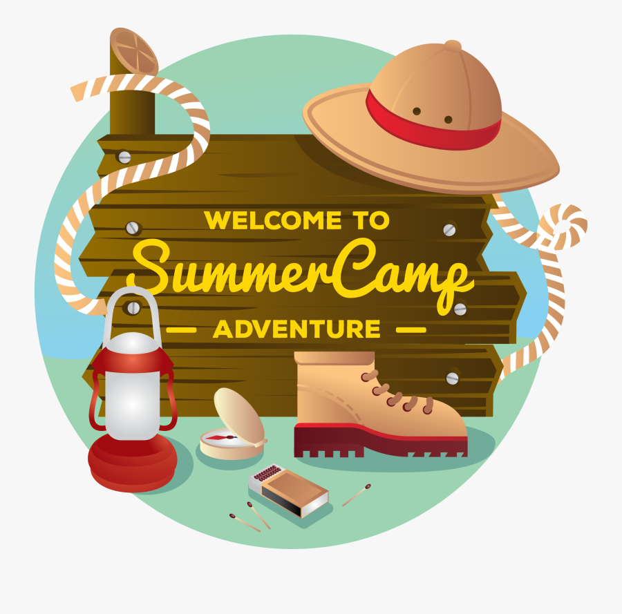 Transparent Camping Clipart Png - Welcome To Camp Clipart, Transparent Clipart