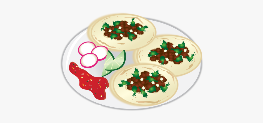 Here Is Our Example Of An Authentic Taco Emoji ~ L - Mexican Street Tacos Clipart, Transparent Clipart
