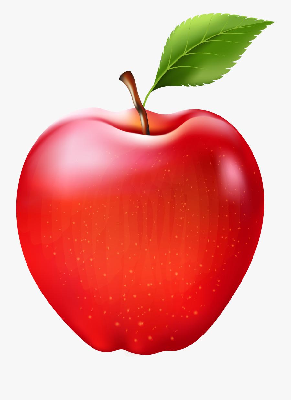 Transparent Fruit Clipart - Transparency Transparent Apple Clip Art, Transparent Clipart