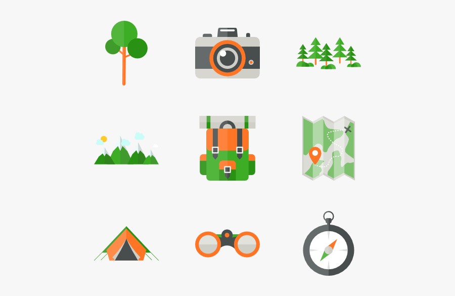 Thumb Image - Camping Icons Png, Transparent Clipart