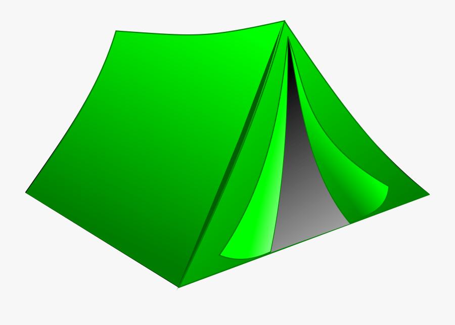 Tent Camping Green - Tent Clipart, Transparent Clipart