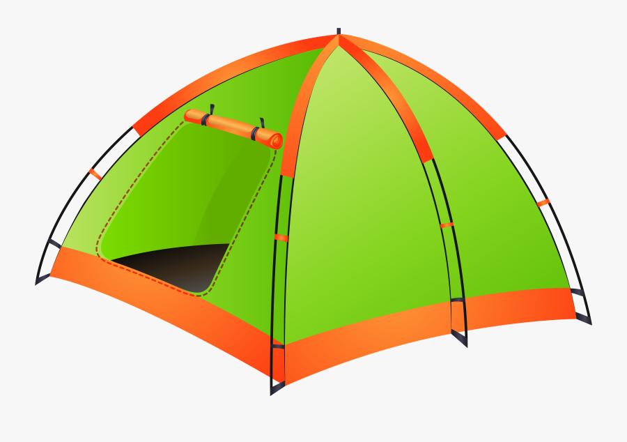 Tent Transparent Png Clip Art Image - Tent Camping Clip Art, Transparent Clipart