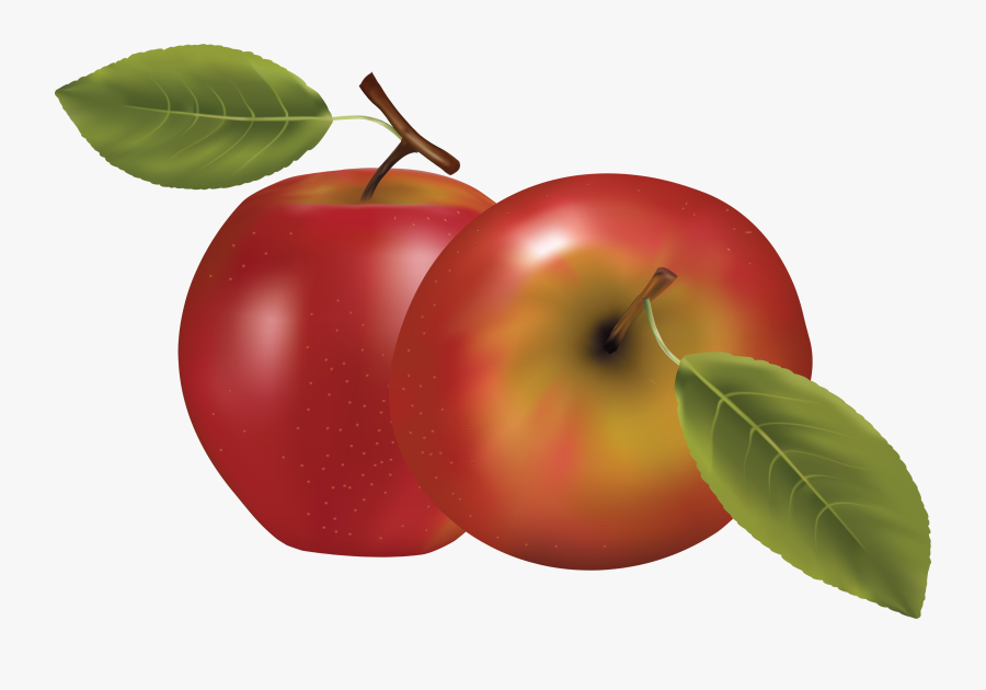 Download Red Clipart Photo - Fruits Vector, Transparent Clipart