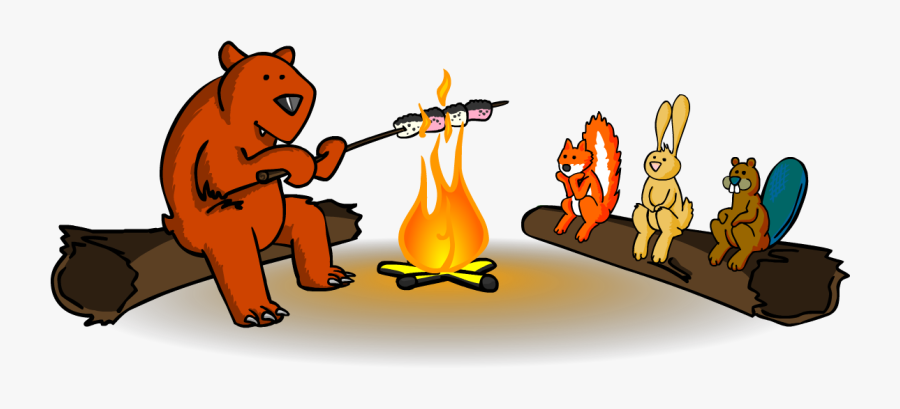 Camper Clipart Camping Theme - Cartoon, Transparent Clipart