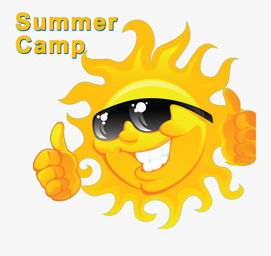 Compass Clipart Camp Free Collection - Sun With Sunglasses Logo, Transparent Clipart