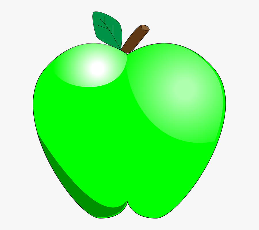 28 Collection Of Green Apple Clipart - Green Apple Clipart Transparent, Transparent Clipart