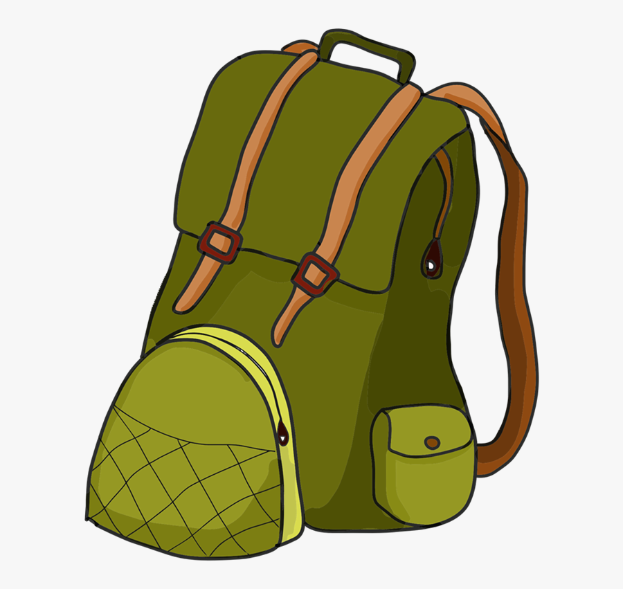 Book Bag Clipart 5 Free Backpack Clipart Backpack Clip - Hiking Backpack Clipart, Transparent Clipart