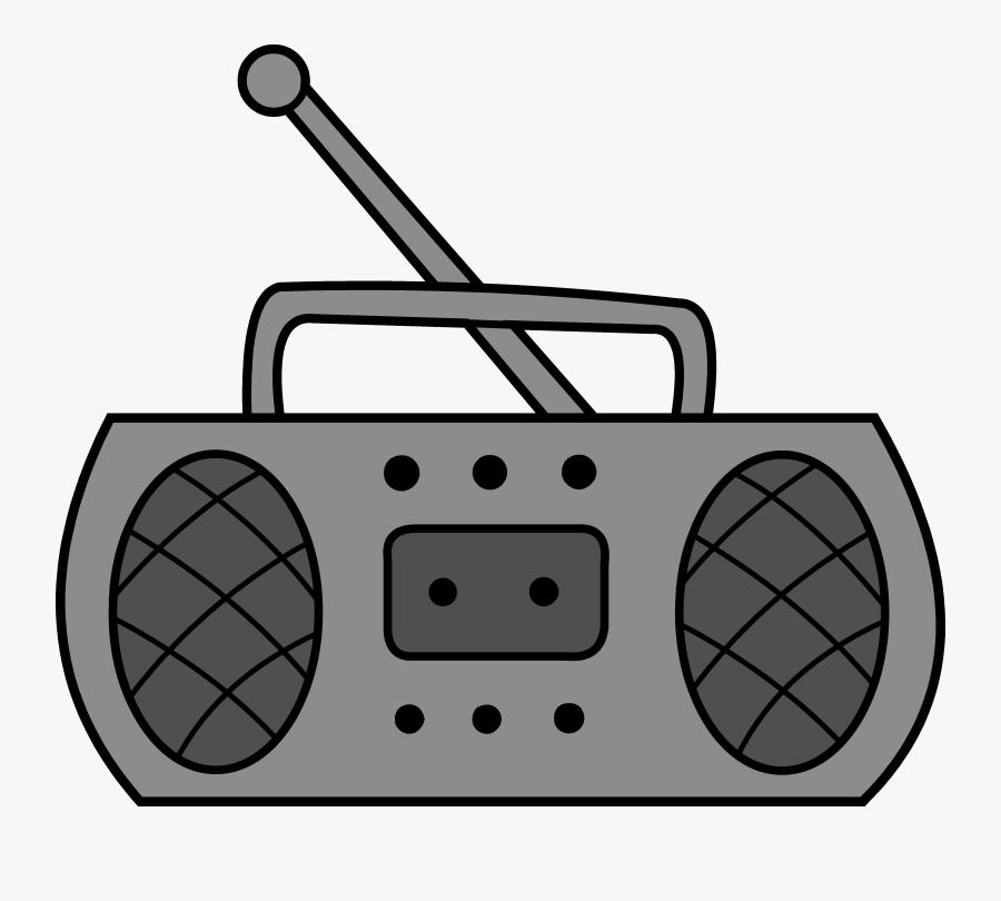 Radio Free Clipart - Transparent Background Radio Clipart, Transparent Clipart