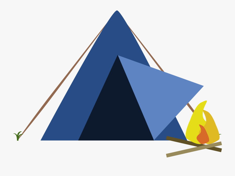 Download Campsite Png Hd 094 - Transparent Camping Png, Transparent Clipart