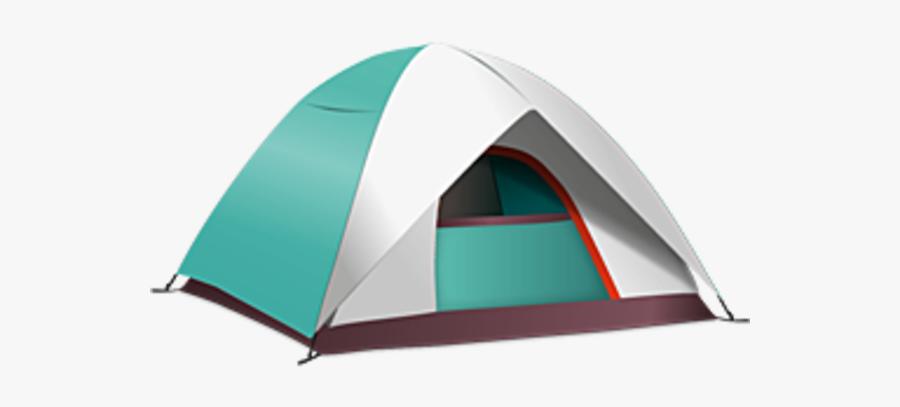 Camp Tent Clipart Image - Camping Tent Transparent Background, Transparent Clipart