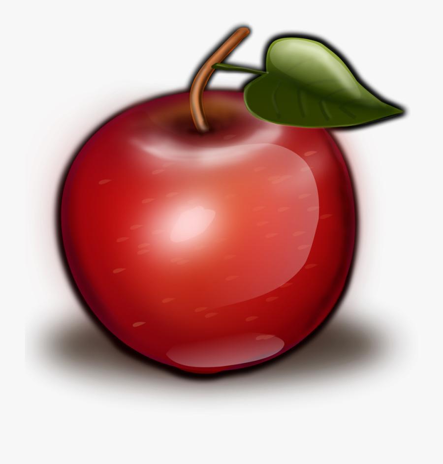 Apple - Clipart - Fruit Transparent Background Apple, Transparent Clipart