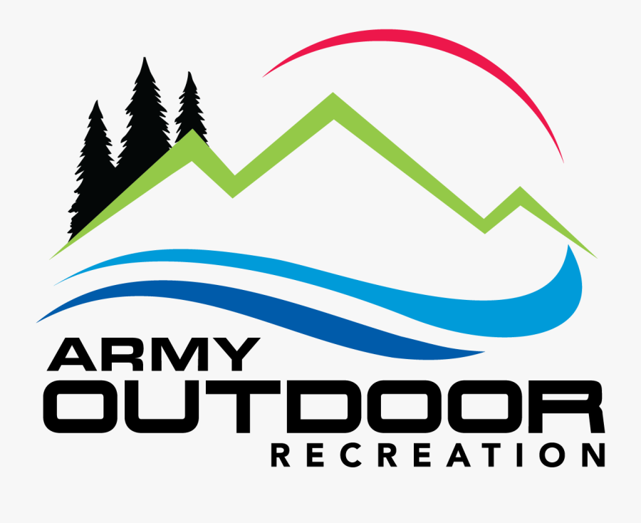Army Outdoor Recreation Logo, Transparent Clipart