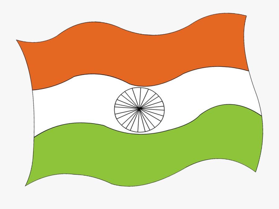 National Flag Clipart - Indian National Flag Diagram, Transparent Clipart