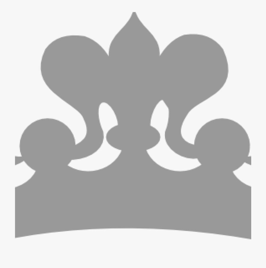 Princess Tiara Clipart Silver Princess Tiara Clipart - Black And White Crown Clipart, Transparent Clipart
