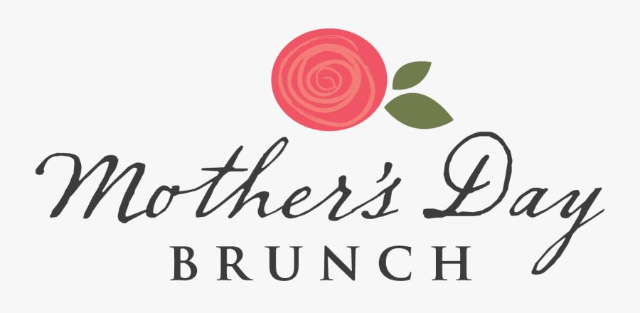 Mother's Day Brunch Banner, Transparent Clipart
