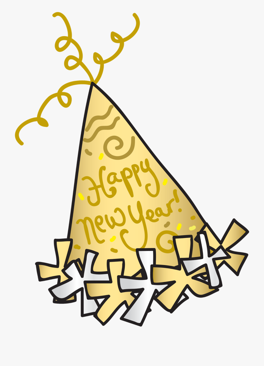 Party Hat Happy New Year Clipart Years Eve Transparent Happy New Year Hat Clipart Free Transparent Clipart Clipartkey