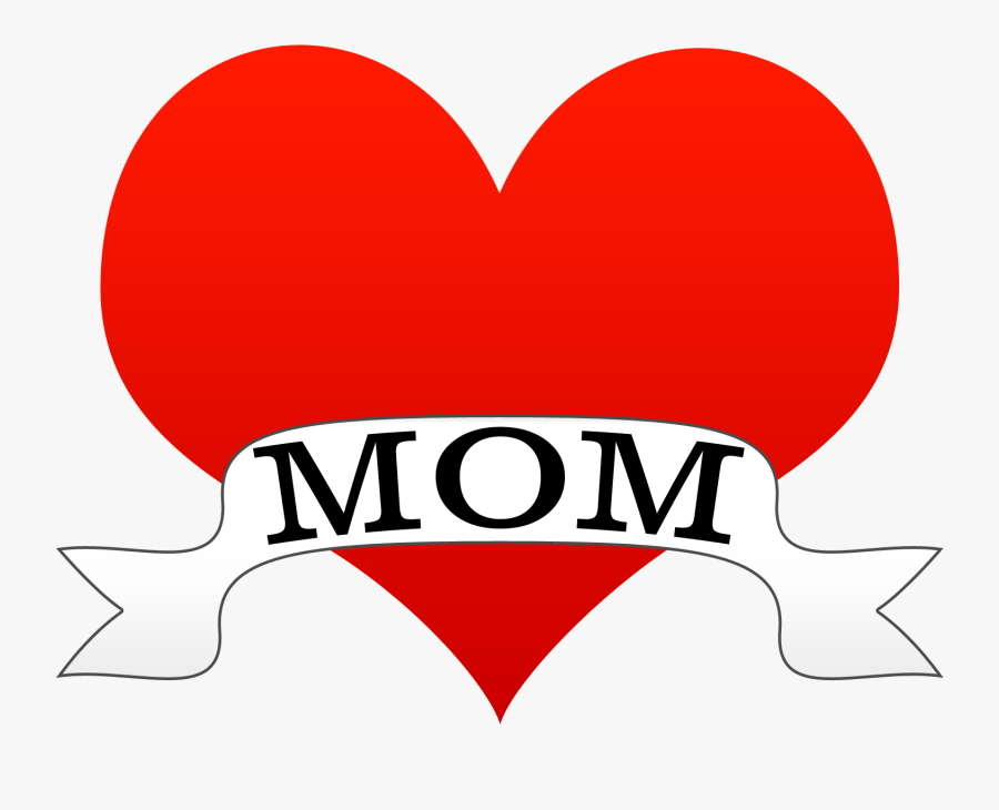 Clipart Mothers Day Heart, Transparent Clipart