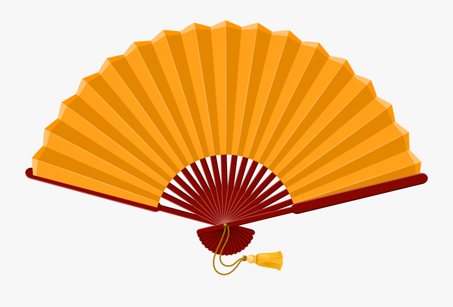 Chinese Fan Png Clip Art - Fan Clipart, Transparent Clipart