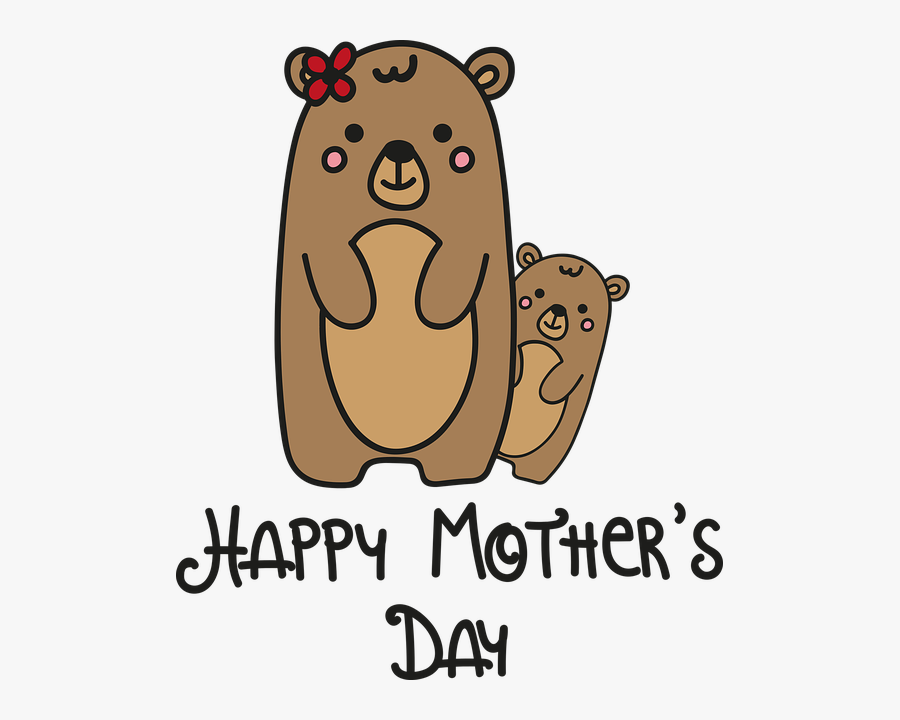 Happy Mothers Day Coloring Pages - Stepmom Drawings Mothers Day, Transparent Clipart