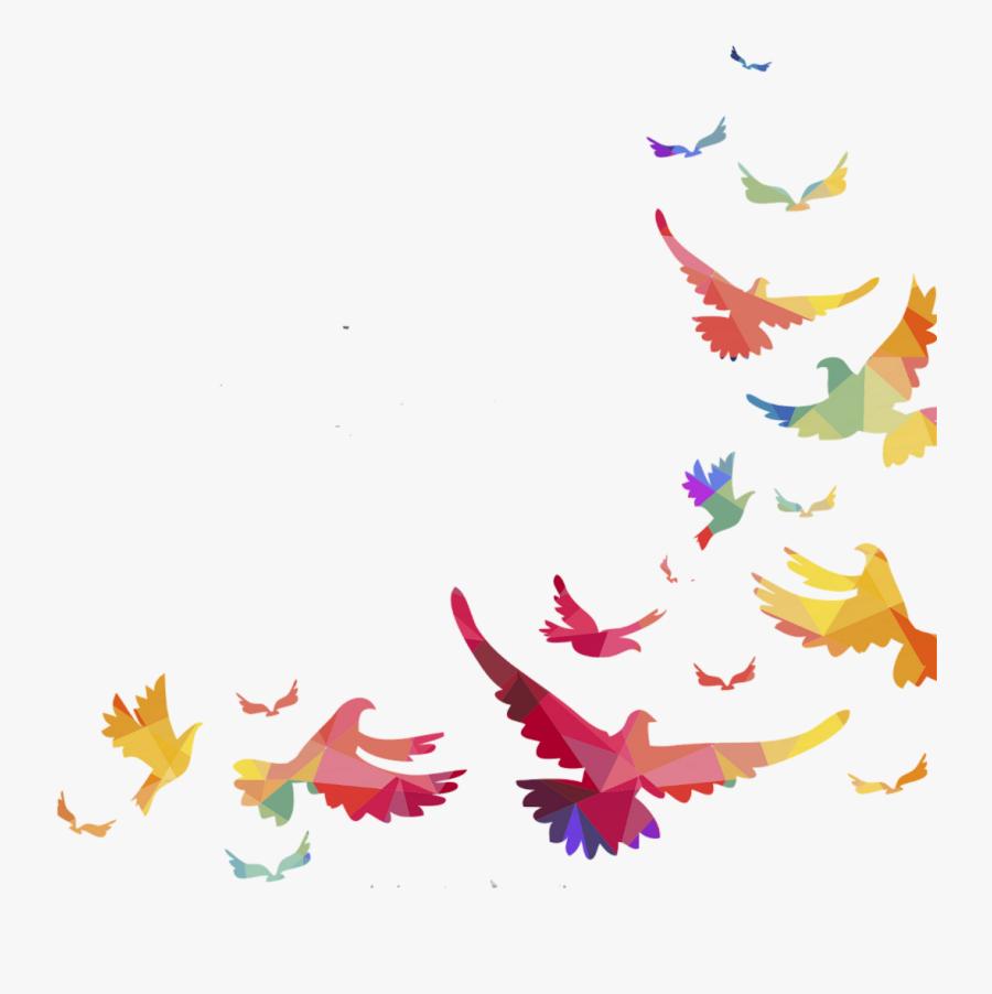 Portable Parrot Lovebird Vector Graphics Bird Network - Birds Borders And Frames, Transparent Clipart