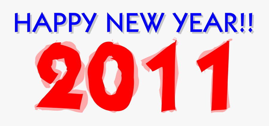Happy New Year - Graphic Design, Transparent Clipart