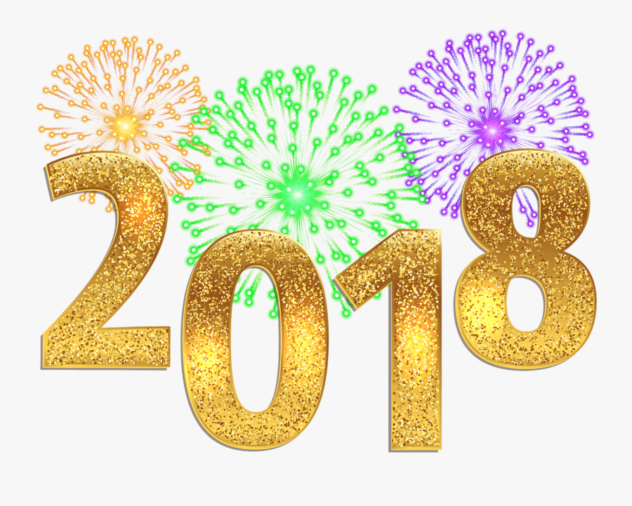 Welcome Back Beckett Farm - Happy New Year 2018 Png, Transparent Clipart