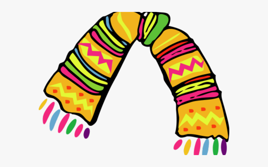 Scarf Clipart Woman Scarf - Muffler In Hindi, Transparent Clipart