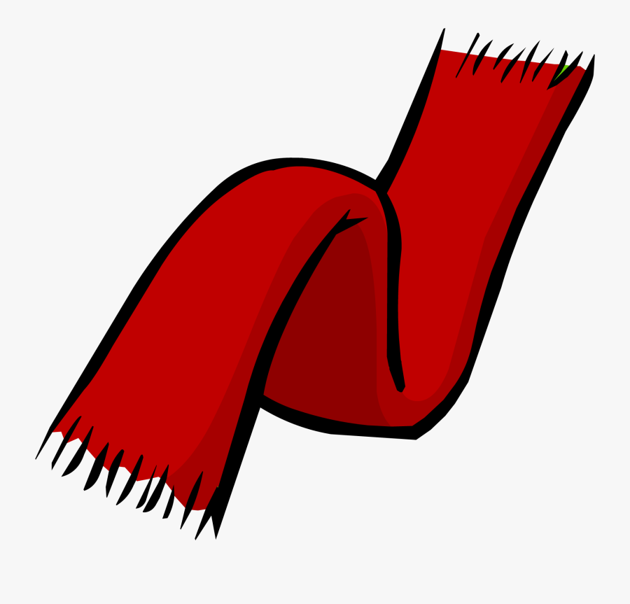 Transparent Red Scarf Png - Red Scarf Clipart, Transparent Clipart