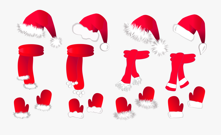 Collection Of Hat - Santa Claus, Transparent Clipart