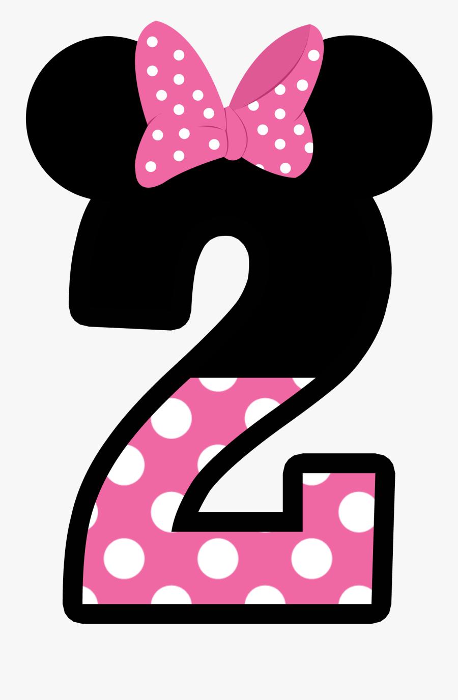 Minnie Mouse No 2, Transparent Clipart