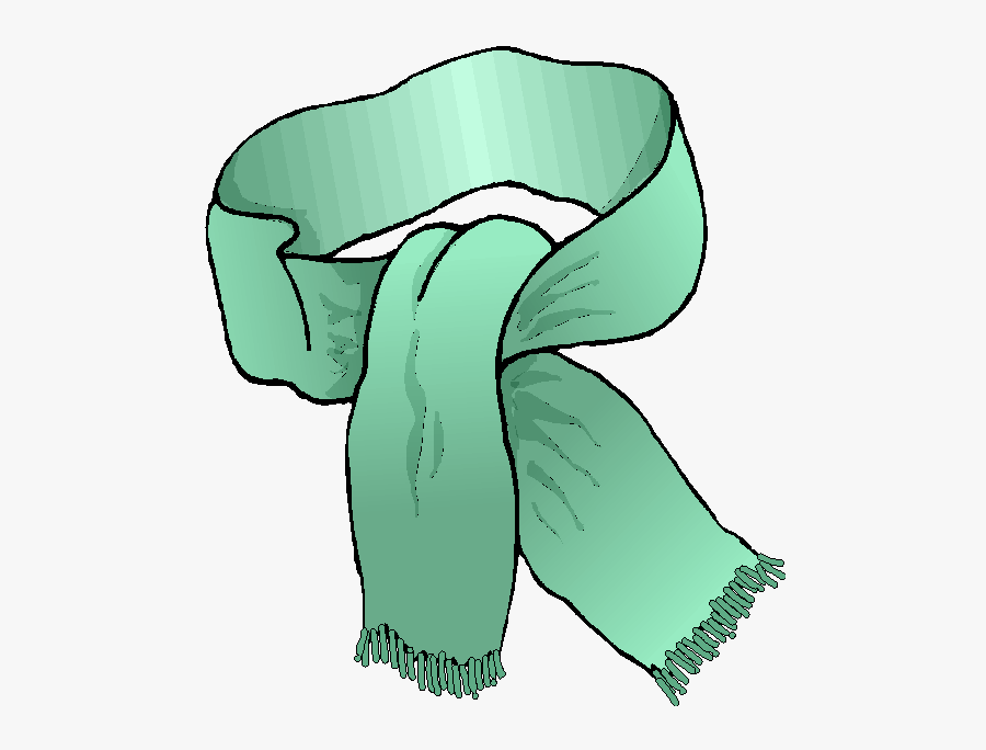 How To Handle The - Kid Winter Scarf Clip Art, Transparent Clipart