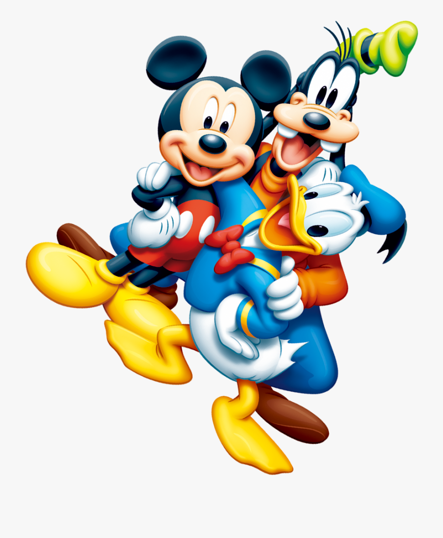 Mickey Mouse And Minnie Mouse Clipart Illustration - Mickey Mouse Png, Transparent Clipart